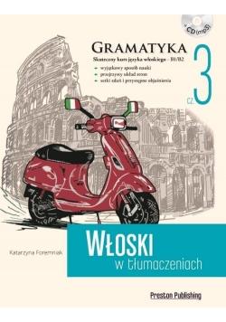 Włoski w tłumaczeniach. Gramatyka 3