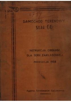Samochód terenowy Star 66 - instrukcja obsługi dla serii zakładowej