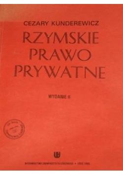Rzymskie prawo prywatne