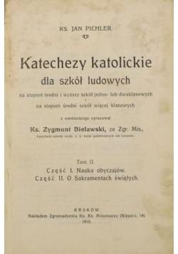 Katechezy katolickie dla szkół ludowych, tom II, 1922 r.