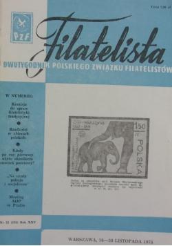 Filatelista 16-30 listopada