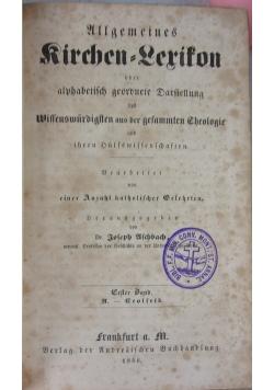 Kirchen - Lerikon, 1846 r.