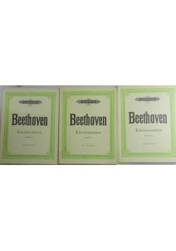 Beethoven, Klaviersonaten, Band I-III