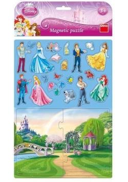 Puzzle Magnetyczne Księżniczki DINO