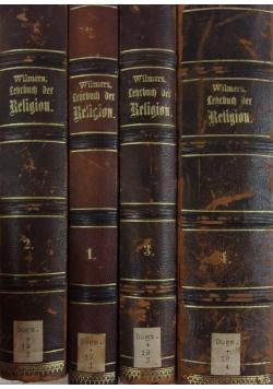 Lehrbuch der religion I- IV, ok. 1885 r