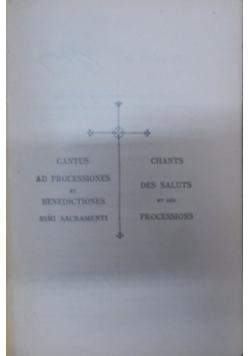 Chantus ad processiones, 1920 r.