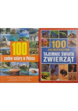100 cudów natury w Polsce / 100 największych tajemnic świata zwierząt