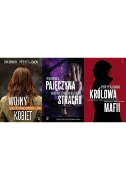 Pakiet: Wojny kobiet/Pajęczyna strachu/Królowa..