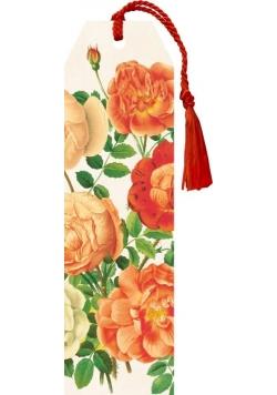 Zakładka 22 ze wstążką Róża 1