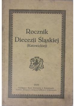 Rocznik Diecezji Śląskiej (Katowickiej), 1929 r.