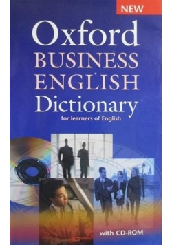 Oxford Business English Dictionary for learners of English - nowa