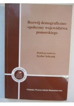 Rozwój demograficzno-społeczny województwa pomorskiego