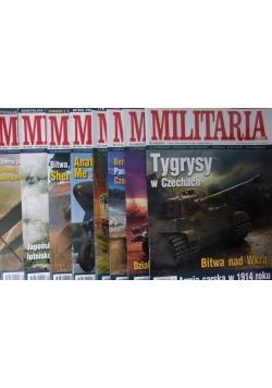 Militaria , zestaw 8 gazet