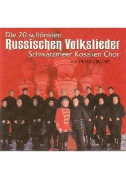 Die 20 schonsten Russischen Volkslieder CD