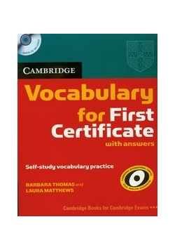 Cambridge Vocabulary for First Certificate with answers z płytą CD