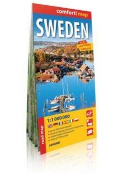 Comfort!map Szwecja, 1:1 000 000 mapa