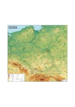 Polska. Mapa Ogólnogeograficzna (listwa)