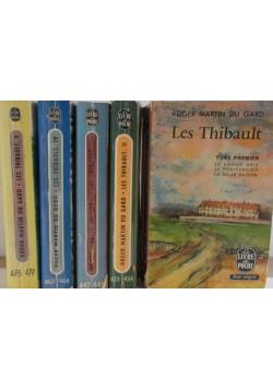Les Thibault, tom I-V