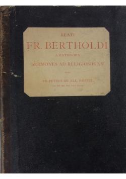 Beati Fr.Bertholdi ,1882r.