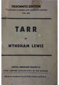 Tarr, 1931 r.