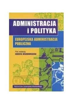 Administracja i polityka,  europejska administracja Publiczna