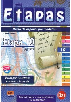 Etapas 10 Podręcznik + ćwiczenia + CD