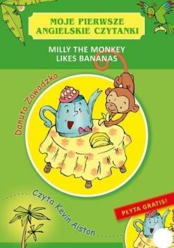 Moje pierwsze angielskie czytanki.Milly the Monkey