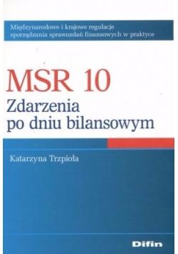 MSR 10. Zdarzenia po dniu bilansowym