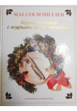 Stylowe dekoracje i oryginalne dania świąteczne