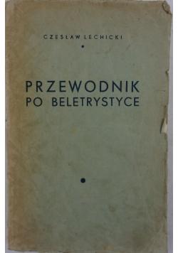 Przewodnik po beletrystyce, 1935r.