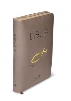 Biblia ST i NT (oprawa flexy z suwakiem)