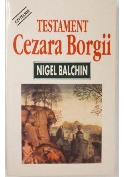 Testament Cezara Borgii