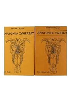Anatomia zwierząt, zestaw 2 książek