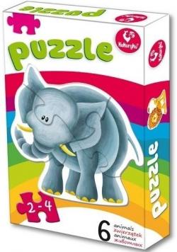Pierwsze puzzle - Zwierzątka 2