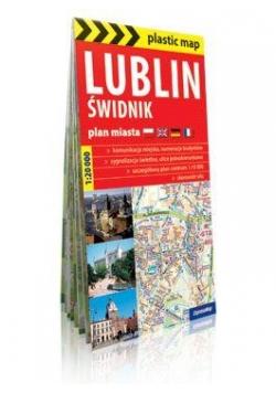 Plastic map Lublin i Świdnik 1:20 000 plan miasta