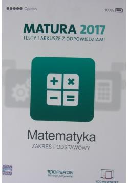 Matematyka Matura 2017 Testy i arkusze z odpowiedziami Zakres rozszerzony
