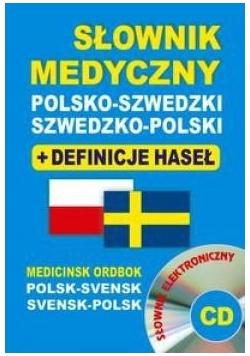 Słownik med. pol-szw, szw-pol+definicje BR w.2015