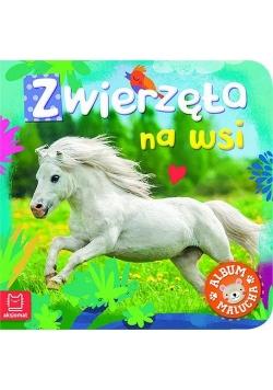 Album malucha Zwierzęta na wsi.
