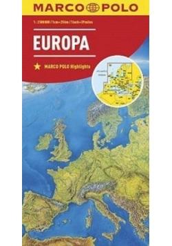 Mapa drogowa Europa MARCO POLO 2016