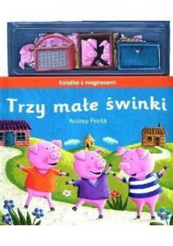 Książka z magnesami - Trzy małe świnki