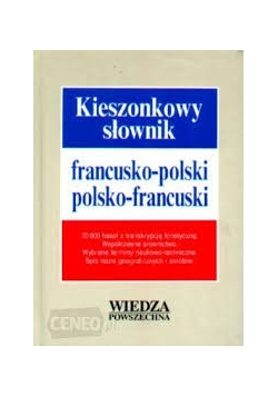 Kieszonkowy słownik. Francusko-polski