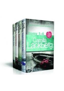 Pakiet Camilla Lackberg T.1-4 w. 2016