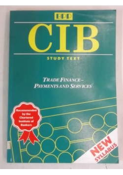 CIB Study Text: Trade Finance - Payments and Services