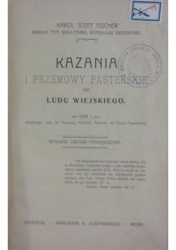 Kazania i przemowy pasterskie do ludu wiejskiego, 1905 r.