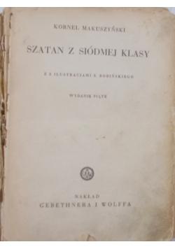 Szatan z siódmej klasy,1938r.