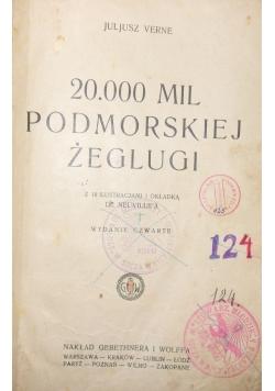 20.000 mil podmorskiej żeglugi, 1928r.