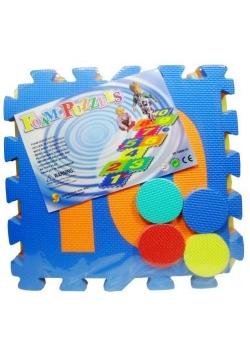 Puzzle podłogowe 10 el. Gra w klasy
