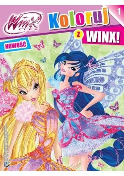 WINX. Koloruj z WINX 1