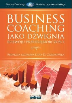Business-Coaching jako dźwignia rozwoju ...