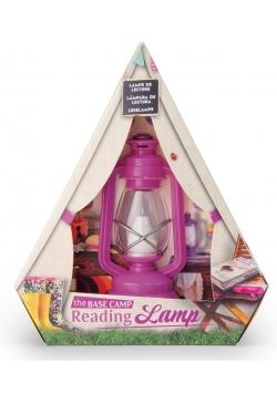 Lampka do czytania fioletowa